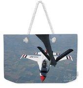 A U.s. Air Force Thunderbird Pilot Weekender Tote Bag