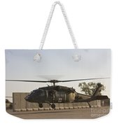 A U.s. Army Medevac Uh-60 Black Hawk Weekender Tote Bag