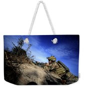 A U.s. Army Soldier Provides Supporting Weekender Tote Bag