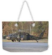 A U.s. Army Uh-60l Blackhawk Weekender Tote Bag
