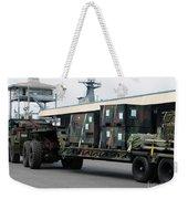 A U.s. Marine Corps Mk48 Logistics Weekender Tote Bag