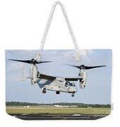 A U.s. Marine Corps Mv-22 Osprey Lifts Weekender Tote Bag
