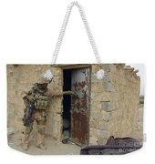 A U.s. Marine Searching Weekender Tote Bag
