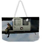 A U.s. Navy Naval Air Crewman Guides Weekender Tote Bag
