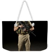 A U.s. Police Officer Contractor Weekender Tote Bag