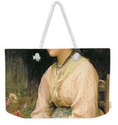 A Venetian Flower Girl Weekender Tote Bag