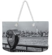 A View From New Jersey II Weekender Tote Bag
