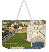 A View From The Bell Tower Of Pisa  Weekender Tote Bag