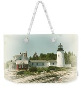 A View From The Water Weekender Tote Bag by Karol Livote