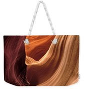 A View In A Slot Canyon Weekender Tote Bag