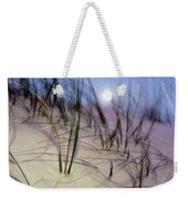A View Of A Full Moon Rising Weekender Tote Bag