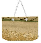 A View Of A Summer Field Of Wheat Weekender Tote Bag