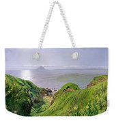 A View Of Ailsa Craig And The Isle Of Arran Weekender Tote Bag