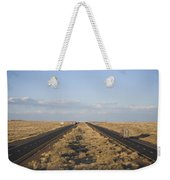 A View Of Interstate 40, Arizona Usa Weekender Tote Bag