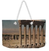 A View Of More Ruins From The Columns Weekender Tote Bag