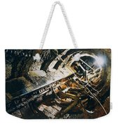 A View Of The Corroded Interior Weekender Tote Bag