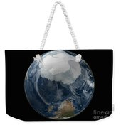 A View Of The Earth With The Full Weekender Tote Bag