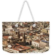 A View Of The Historic Center Weekender Tote Bag