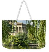 A View Of The Parthenon 10 Weekender Tote Bag