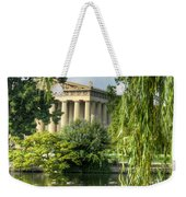A View Of The Parthenon 16 Weekender Tote Bag