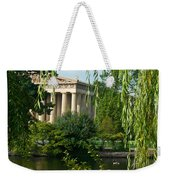 A View Of The Parthenon 9 Weekender Tote Bag