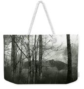 A View Through The Trees Bw Weekender Tote Bag