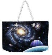 A View To A Nearby Galaxy From A Gas Weekender Tote Bag