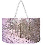 A Walk In The Snow Weekender Tote Bag