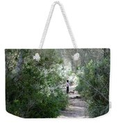 a walk about fairy wood - Mediterranean autumn forest Weekender Tote Bag