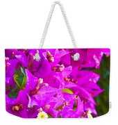A Wall Of Flowers Weekender Tote Bag