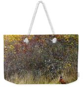 A Watchful Pheasant Weekender Tote Bag