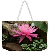 A Waterlily's Grace Weekender Tote Bag