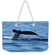 A Whale Of A Time Weekender Tote Bag
