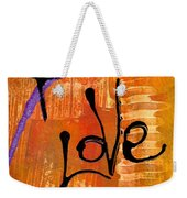 A Whirlwind Called Love Weekender Tote Bag