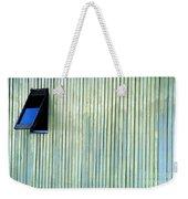 A Window In The Wall Of Wood Weekender Tote Bag