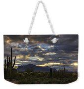 A Winter Sunrise In The Desert  Weekender Tote Bag