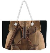 A Wooden Coffin Case Of The Pharaoh Weekender Tote Bag