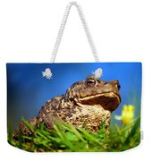 A Worm's Eye View Weekender Tote Bag