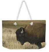 A Yellowstone Bison 9615 Weekender Tote Bag