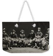 A Young Group Of Well Dressed Nepali Weekender Tote Bag