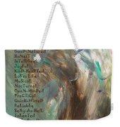 A-z Mate Weekender Tote Bag