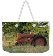 Abandonded Farm Tractor 2 Weekender Tote Bag