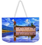 Abandoned Church In Macedonia Weekender Tote Bag