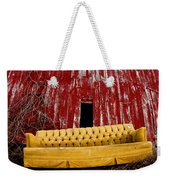 Abandoned Couch Weekender Tote Bag