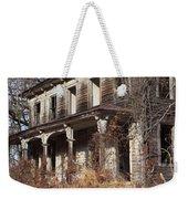 Abandoned Dilapidated Homestead Weekender Tote Bag by John Stephens