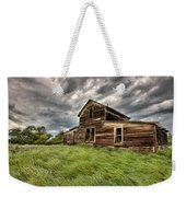 Abandoned Farm Buildings Saskatchewan Weekender Tote Bag