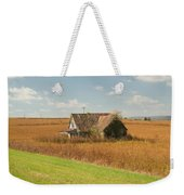 Abandoned Farmhouse In Field 2 Weekender Tote Bag