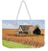 Abandoned Farmhouse In Field 4 Weekender Tote Bag