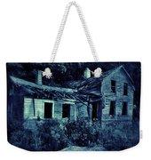 Abandoned House At Night Weekender Tote Bag