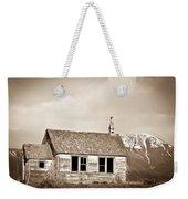 Abandoned Montana Shcoolhouse Weekender Tote Bag